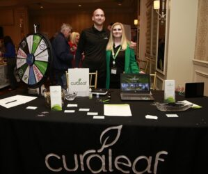 Andrew Behringer and Alison Dixon of Curaleaf.